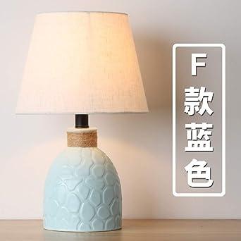 Lámpara de mesa de cerámica nórdica moderna minimalista creativa ...