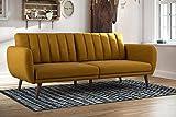 Novogratz Brittany Sofa Futon, Premium Linen