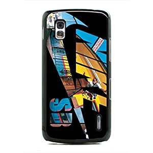 Artistic Pattern Just Do It Geogle Nexus 4 Case,Nike Logo Just Do It Phone Case Protective Hard Plastic Case Cover For Geogle Nexus 4,Black Phone Case
