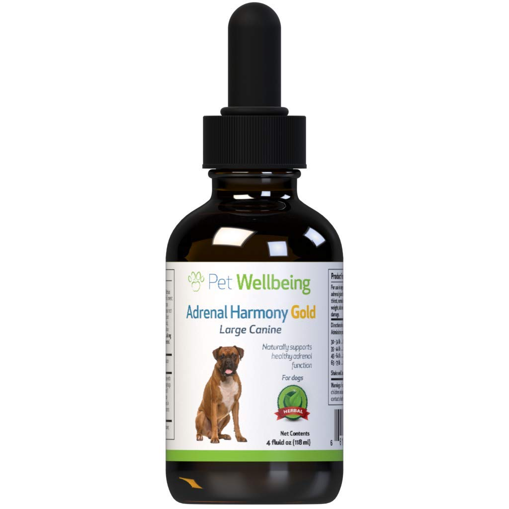 Pet Wellbeing - Adrenal Harmony - Natural Support for Adrenal Dysfunction and Cushing's in Dogs (4 Ounce) by Pet Wellbeing