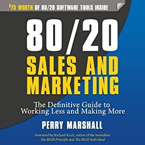 80/20 Sales and Marketing Hörbuch