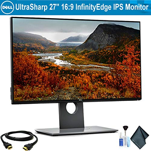 "Dell UltraSharp U2717D 27"" 16:9 InfinityEdge IPS Monitor Bun"