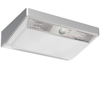 ENGREPO Solar Lights, 48 LED Wall Solar Light outdoor Security Lighting Wireless Motion Sensor Light with IP65 Waterproof For Front Door, Yard, Garage, Garden, Patio, Deck.Aluminum Alloy Housing