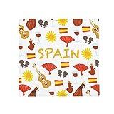 DIYthinker Spain Flamenco Music Food Anti-slip Floor Pet Mat Square Bathroom Living Room Kitchen Door 60/50cm Gift