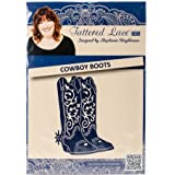 Tattered Lace Metal Die, Cowboy Boots