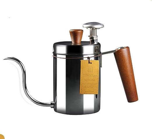 Cafetera de mano Tipo de goteo Fina boca Olla Hogar 304 Acero ...