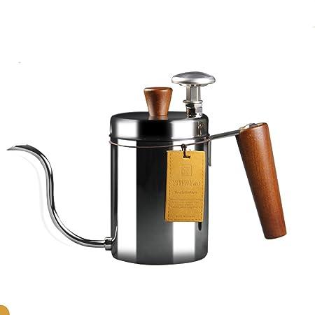 Cafetera de mano Tipo de goteo Fina boca Olla Hogar 304 ...