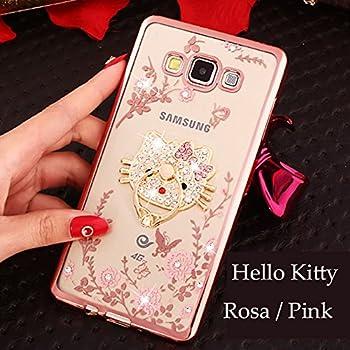 Amazon.com: Para disfraz de Samsung Galaxy, rosa hello kitty ...