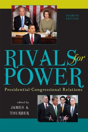 Download By James A. Thurber - Rivals for Power: Presidential-Congressional Relations: 4th (fourth) Edition ebook