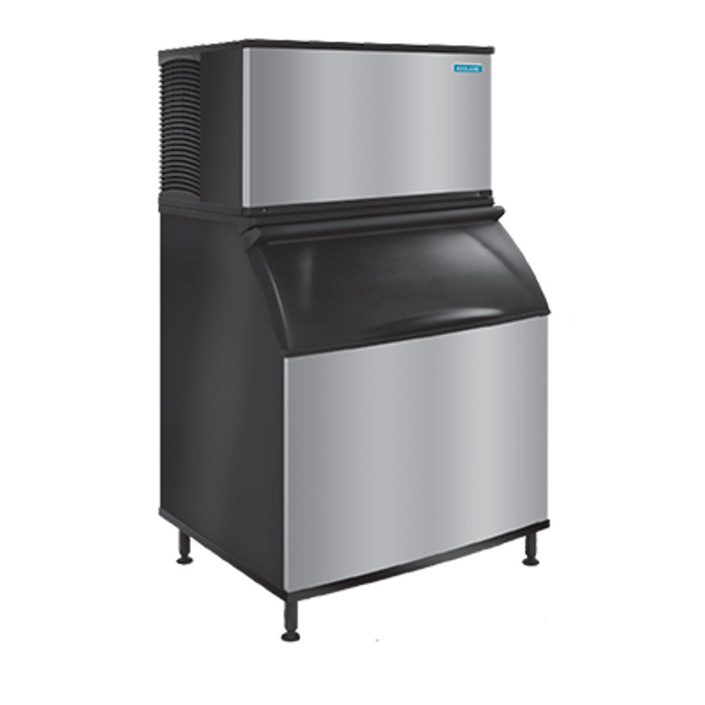 Capacity 115//60//1 Dice Cube Koolaire KD-0170A Undercounter Ice Machine 148 lb Air Cooled Production 80 lb