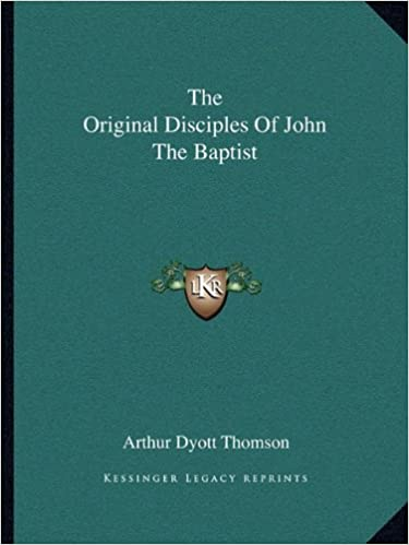 Book The Original Disciples of John the Baptist