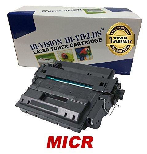 HI-VISION Remanufactured HP 55X, CE255X High Yield MICR T...