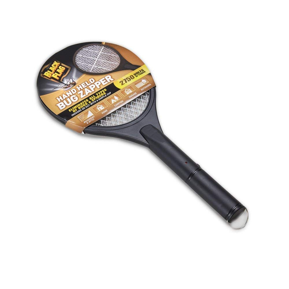 Black Flag Handheld Bug Zapper, Black ZR-7936