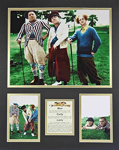 The Three Stooges - Golf Color 16