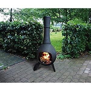 Cast Iron Chiminea Heater Esschert Ff65