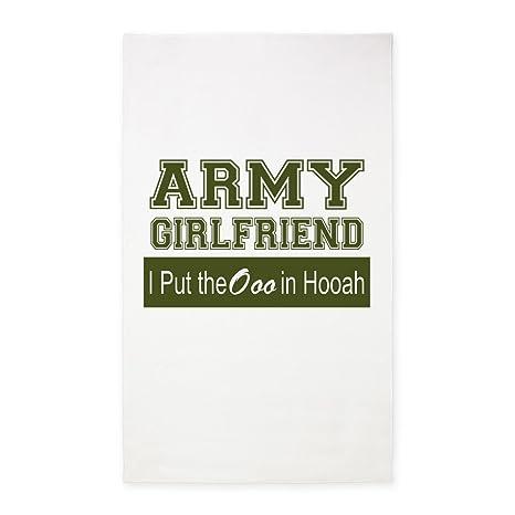 Amazon.com: CafePress Army Girlfriend Ooo in Hooah_Green ...