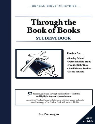 Through the Book of Books: Student Book: Lori Verstegen ...