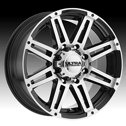 UPC 842210071452, Ultra 226U Machine 18x9 6x139.7 +25mm Black/Machined Wheel Rim
