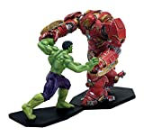 Factory Entertainment Marvel Comics Age of Ultron Metal Miniatures Hulk vs Hulkbuster Statue
