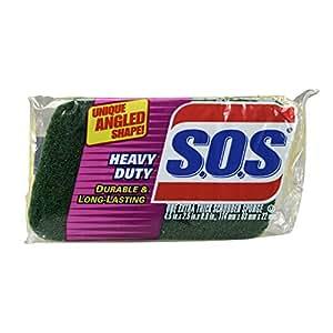 S.O.S. Heavy Duty Scrubber Sponge (Pack of 12)