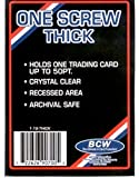 BCW 1 Screw Thick Card Holder - 50