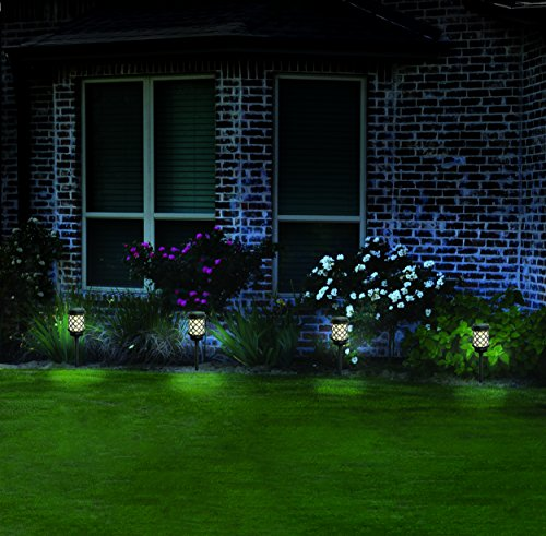 malibu 6 pack calypso collection solar pathway lights