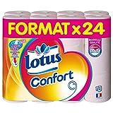 Lotus Confort Toilettenpapier, mit Aquatube, 24Rollen