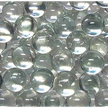 Amazon Com Round Transparent Glass Marbles For Embellishing Crafting And Creating Arts
