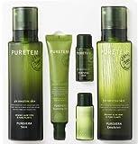 Puretem Purevera Facial Skin Care 2 Items Set (100% Organic Aloe Vera) by Kwailnara For Sale