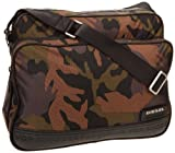Diesel Camou On The Road Twice Potsie Twice X01311P0151 Messenger Bag,Wood,One Size