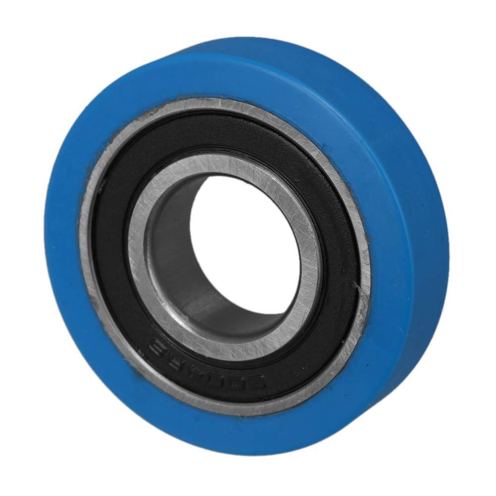 Mxfans Puleggia Mute Rullo Rullo Gomma Morbida 20 x 50 x 12 mm PU6004 Cuscinetto integrato