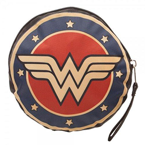 Ufficiale licenza DC Comics Wonder Woman Logo Packable Tote Bag