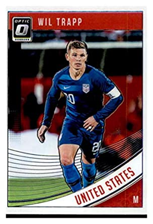 9685f7987 Image Unavailable. Image not available for. Color  2018-19 Donruss Optic  172  Wil Trapp United States Soccer Card