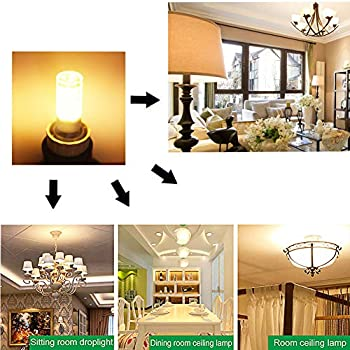 G4 LED Bulb 12V AC/DC, Bi-pin G4 Base 5Watt T3 Led Bulb Lighting Equivalent 40W Halogen Bulbs, Warm White 2700K-3000K Light Bulbs for Landscape, Ceiling, Chandelier, Wall Sconce, Not-Dimmable (6-Pack)