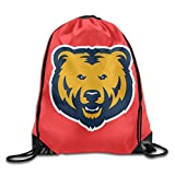 Northern Colorado Bears Logo Drawstring Backpack Bag