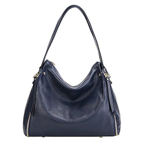 Sac Girl Sac E cuir main bandoulière LF Sac 1895 portés femme Bleu fashion épaule en à CqHOwH