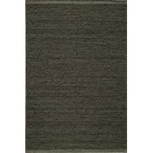 Momeni Rugs MESA0MES-2SMO80A0 Mesa Collection, 100% Wool Hand Woven Flatweave Transitional Area Rug, 8' x 10', Smoke