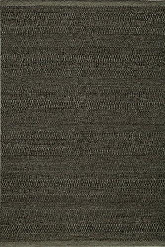 Momeni Rugs MESA0MES-2SMO90C0 Mesa Collection, 100% Wool Hand Woven Flatweave Transitional Area Rug, 9' x 12', (Handmade Transitional Rug)