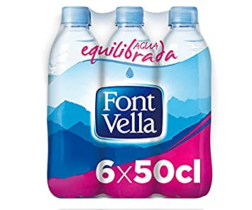 Font Vella Agua Mineral Natural - Pack 6 x 50cl: Amazon.es: Amazon Pantry