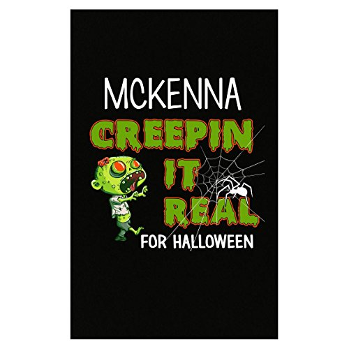 Mckenna Creepin It Real Funny Halloween Costume Gift - Poster -