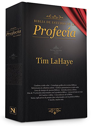 Biblia de estudio de la profecía: Negro (Spanish Edition)