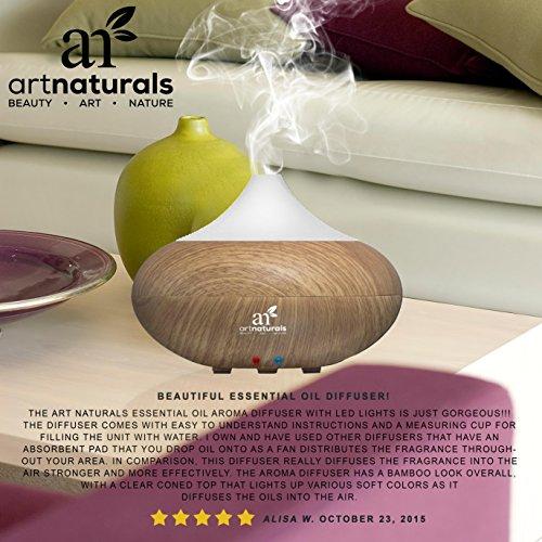 Artnaturals Essential Oil Diffuser And Humidifier