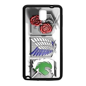 Attack On Titan Design Fashion Comstom Plastic case cover For Samsung Galaxy Note3