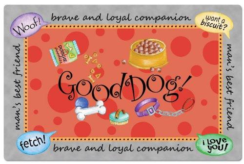 CounterArt Good Dog Pet Placemat