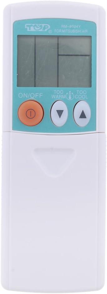 D DOLITY Universal Control Remoto del Aire Acondicionado para Mitsubishi RM-8024Y, Receptor de Distancia Larga: Amazon.es: Electrónica