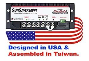 Morningstar Sunsaver TrackStar 15 Amp MPPT Charge Controller 12V/24V