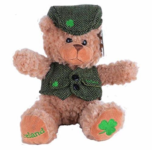 Brown Bear In Waistcoat And Flat Cap ()
