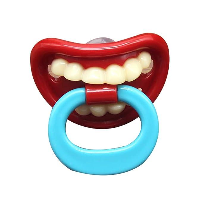 XMxDESiZ - Chupete de silicona para bebés con forma de labio ...