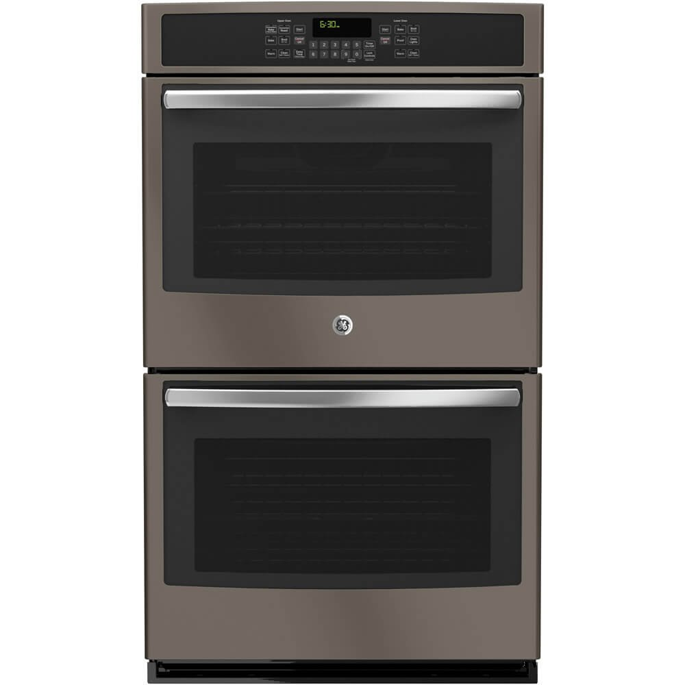 """GE JT5500EJES 30"""" Star-K Certified Built-In Double Wall Oven With Convection in Slate"""
