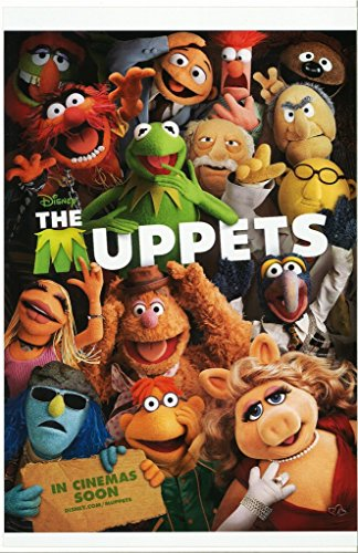 The MUPPETS with Kermit The Frog Miss Piggy Foozie Bear and Gang 11 x 17 Movie Poster Litho (Jim Movie Poster)
